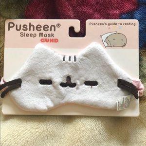 NEW pusheen sleep mask adjustable strap